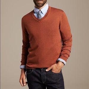 Banana Republic Extra Fine Italian Wool Sweater